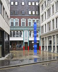 Jürgen Partenheimer, World Axis, 1997/2014 (London, Sculpture in the city)